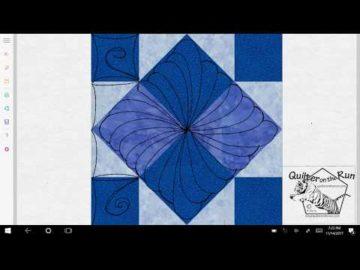 Four Patch Art Square Variation #5