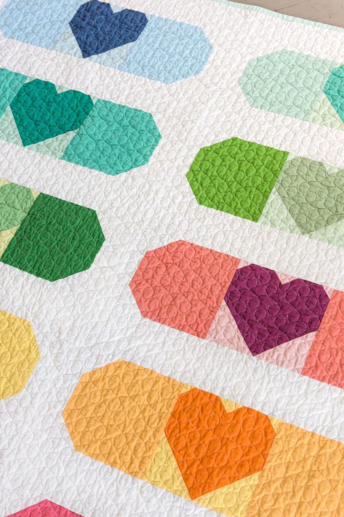 Band-Aid Quilt used with liquid starch
