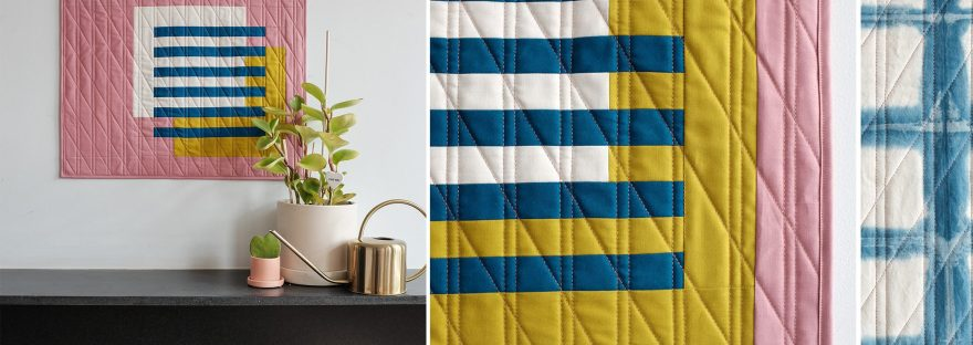 A free modern quilt pattern