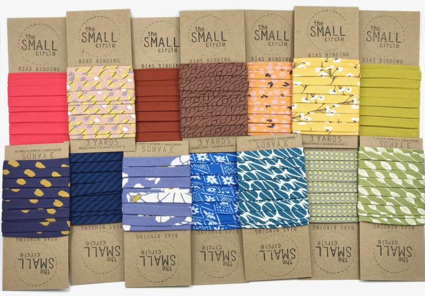 The Small Circle Double Bias Binding for Quilters