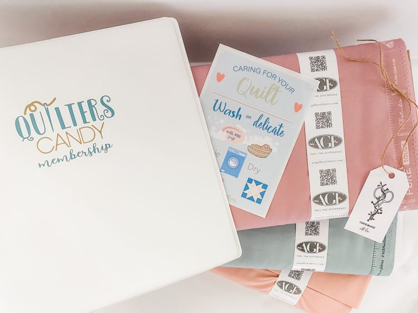 Quilters Candy Membership, What's included