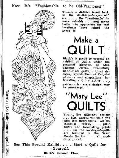 Mary Lee Quilts, El Dorado, Kansas