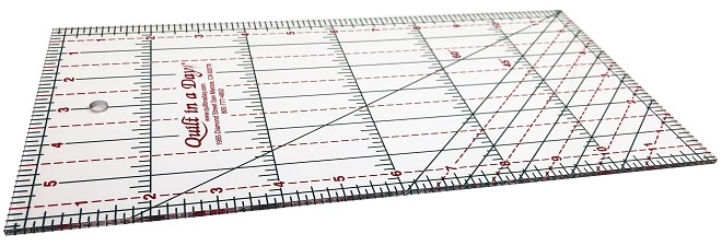 6 X 12 Ruler by Quilt in a Day 735272020028 Rulers & Templates