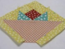 paper pieced basket