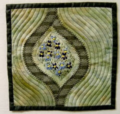 Violet Patch Mini Quilt For Dad Quilting