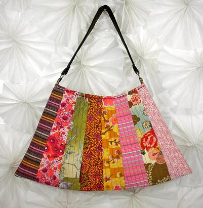 Asian Fan purse La Todera