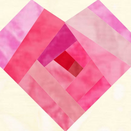 Free Quilt Patterns With Hearts : Freebies: Paper pieced hearts ? Quilting