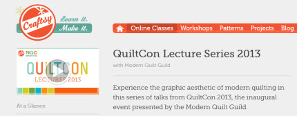 Lecture Series Craftsy