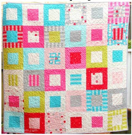 Sew Stitchy Squares quilt