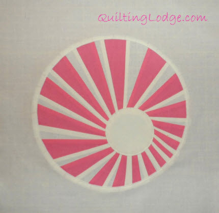 swirly twirly dresden pattern