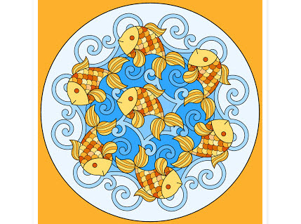 pattern fish madala