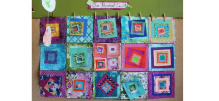 Paper Quilt preschool fun