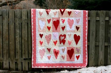 Sassy Stitcher Valentine S Day Quilt Quilting