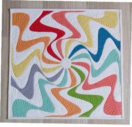 mini quilt Geta