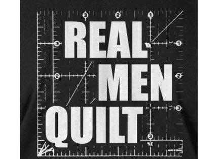 RealMenQuiltTshirt