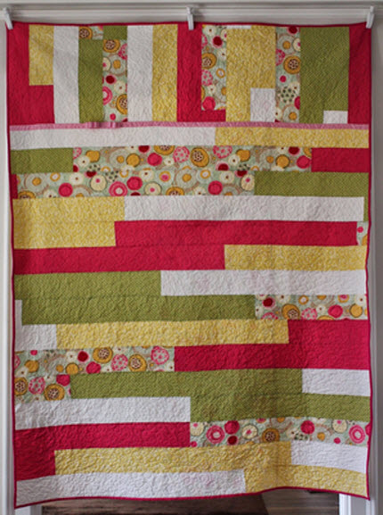 Tutorial Sixty Minute Split Strip Quilt Dorr