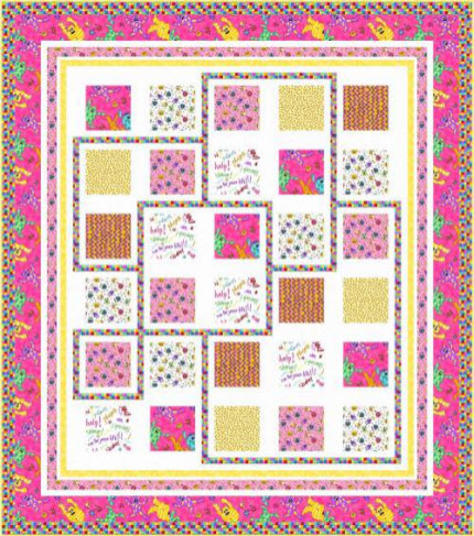 Free Patterns Monster Mash Quilt Pillowcase Quilting