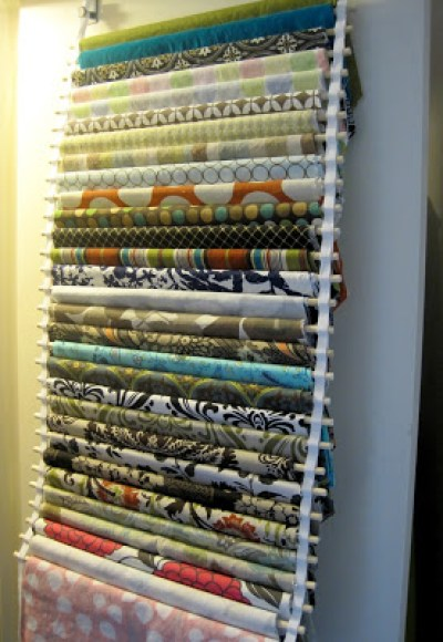 fabric door holder
