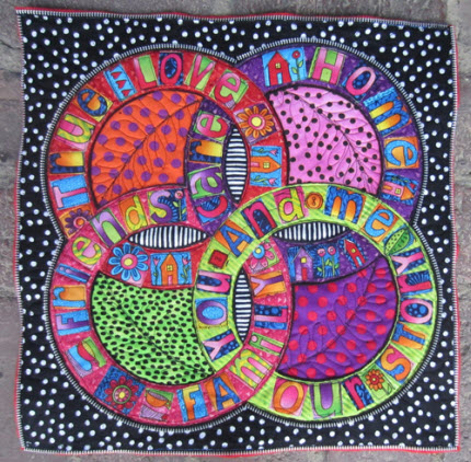 Tutorial Embellish Art Quilts With Zippers Quilting