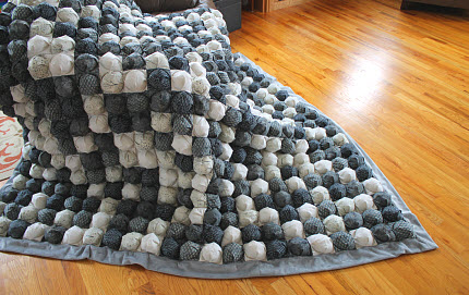Puff Quilt for Brother