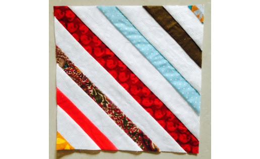 Tutorial: String quilt block