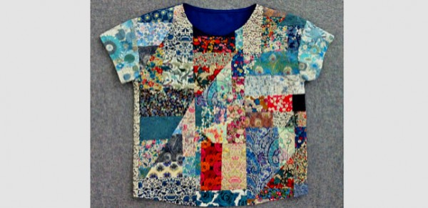 Liberty Patchwork Top