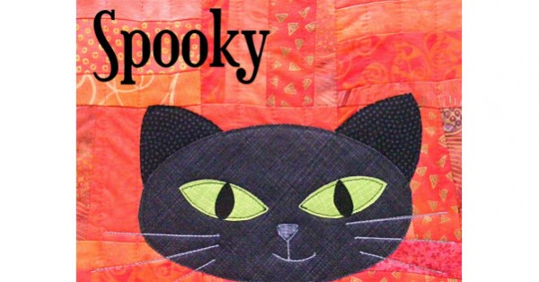 spooky cat pattern
