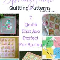 7 Quilts That Are Perfect For Spring And Easter