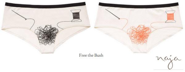 Free the Bush_knickers_panties