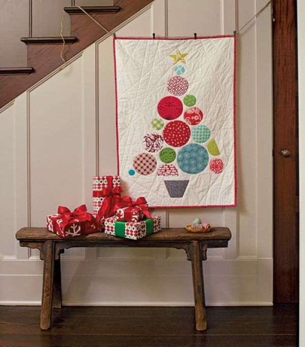 Christmas Tree Table Runner Quilt Pattern: 10 Quilts Inspired By The Christmas Tree