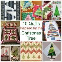 10 Quilts Inspired by the Christmas Tree