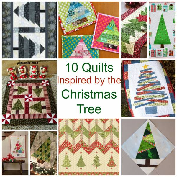 holiday #quilting #freepatterns for Christmas and Holiday quilt projects and ideas
