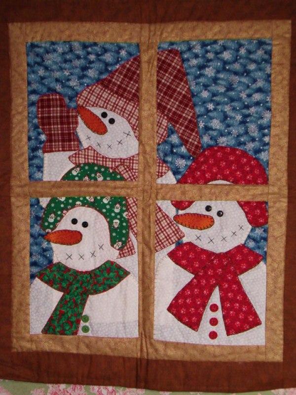 8 Snowman Quilt Patterns Quilting