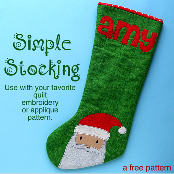 Simple Stocking Wendi Gratz