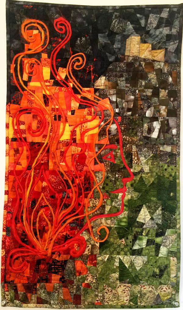 Jennifer Mitchell Winner Quilt Contest