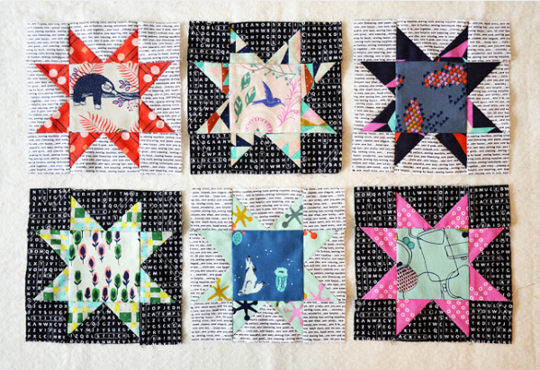 Star Quilt Blocks Dutch Comfort BOM
