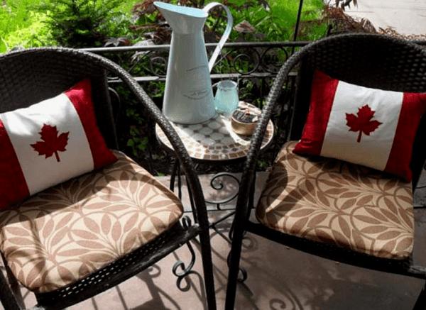 Canada Day Pillows