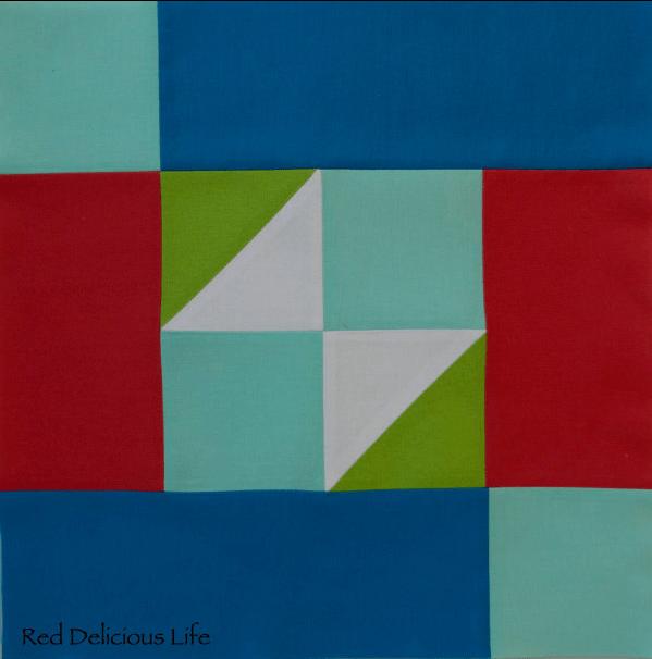 Free quilt block pattern: Parasailing
