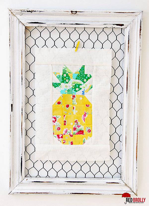 Tutorial Pineapple Quilt Block Quilting