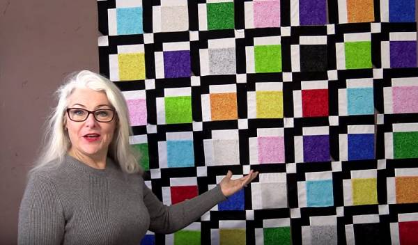 Make a simple quilt block learn to nest