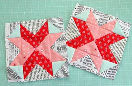 Quilters spread love thru blocks