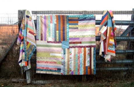 Simple Jelly Roll Quilt For Beginners