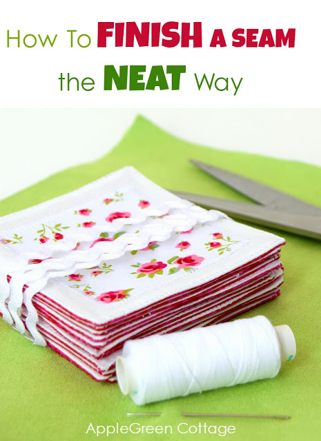 How To Finish A Top End Seam – The Neat Way