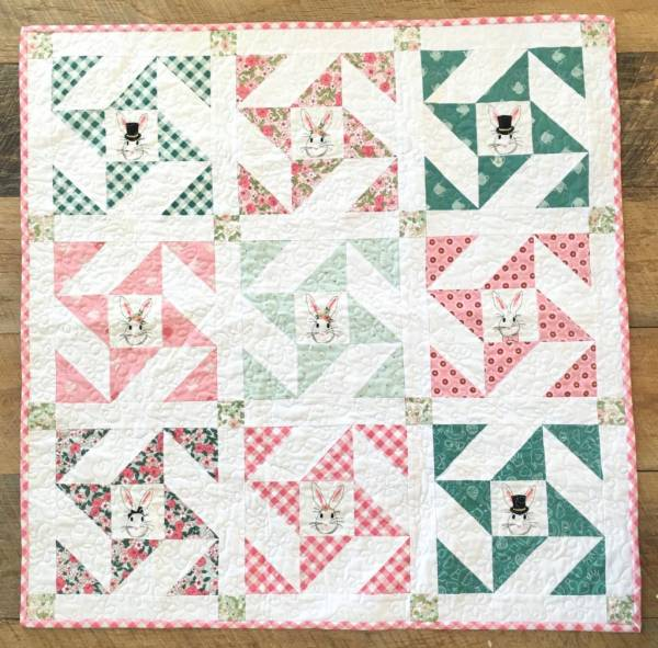 Snuggle Bunny Quilt Project
