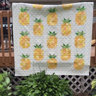 Pat Sloans Pineapple Quilt Pattern
