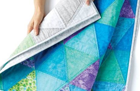 Tutorial – Ombre Triangle Quilt
