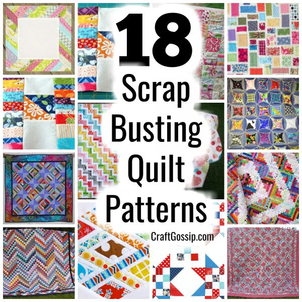 Scrap Busting Quilt Patterns