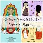 Sew a Saint Doll Female Saints