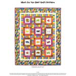 Brown Bear What Do You See Quilt Free PDF Pattern