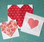 Heart Quilt Blocks in Various Sizes - Free Patterns